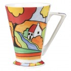 Clarice Cliff Willow River Cottage Mug