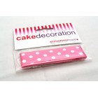 Polka Dot Ribbon - Pink