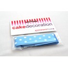 Polka Dot Ribbon - Blue