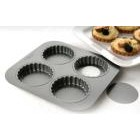 Chicago Metallic Four Cup Tartlet Tin