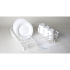 Delfinware Medium Flat Dish Drainer - White