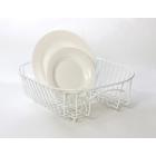 Delfinware Plate Sink Basket - White