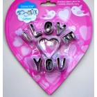 Eddingtons I Love You Cookie Cutter Set
