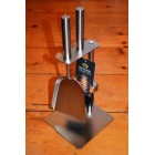 Manor Duo Hearth Tidy - Pewter