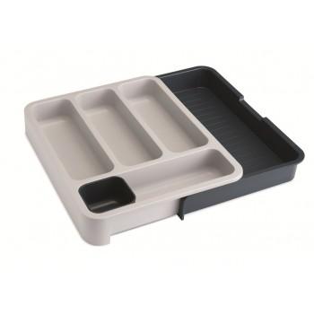 Joseph Joseph DrawerStore Expandable Cutlery Tray - Grey