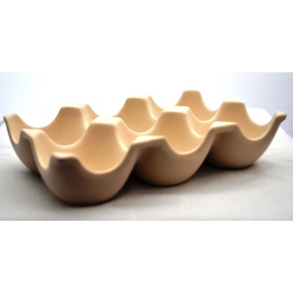 International Cookware Design Ceramic 6 Egg Tray