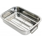 Kitchen Craft Stainless Steel Roasting Pan - Small