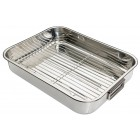 Kitchen Craft Stainless Steel Roasting Pan - Large