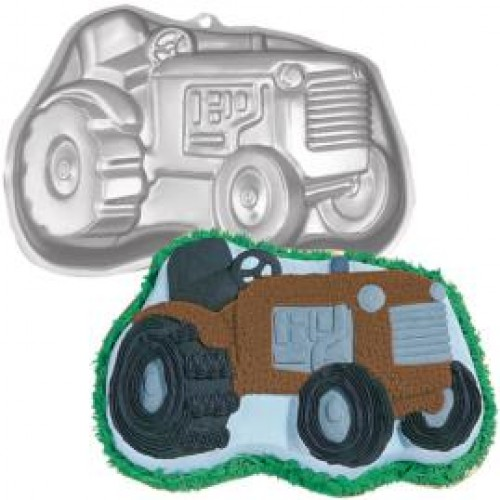 Tractor Cake Pan : Wilton tractor cake pan mould