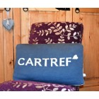 Cartref Blue & White Welsh Cushion