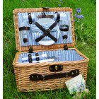 Sandringham 2 Person Wicker Picnic Hamper
