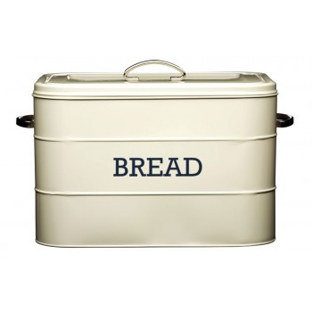 Living Nostalgia Bread Bin - Antique Cream