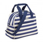 Coolmovers Blue Stripe 11.5 Litre Holdall Style Cool Bag