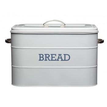 Living Nostalgia Bread Bin - French Grey