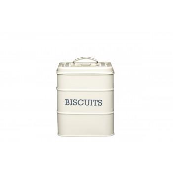 Living Nostalgia Biscuit Tin - Antique Cream