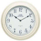 Living Nostalgia Wall Clock - Antique Cream