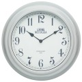Living Nostalgia Wall Clock - French Grey