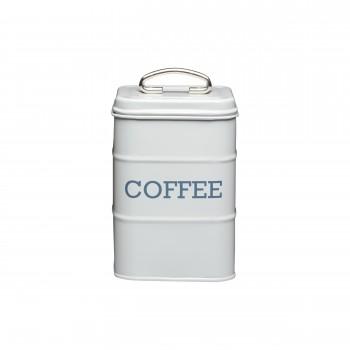Living Nostalgia Coffee Tin - French Grey