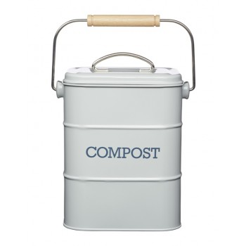 Living Nostalgia Compost Bin - French Grey