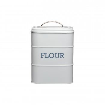 Living Nostalgia Flour Tin - French Grey