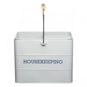 Living Nostalgia Housekeeping Box - French Grey
