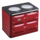 AGA  Embossed Oven Tin - Claret