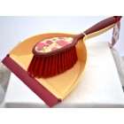 Vigar Acquarella Rose Dustpan & Brush Set