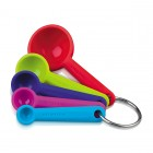 Zeal Perfect Measure Silicone Spoon Set
