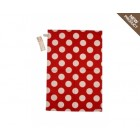 Colonial Home Red Spot Tea Towel