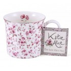 Katie Alice Ditsy Floral White Bone China Palace Mug