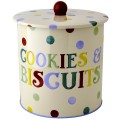 Emma Bridgewater Polka Dot Text Biscuit Barrel