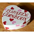 Emma Bridgewater Pink Hearts Totally Gorgeous Small Heart Tin