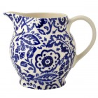 Emma Bridgewater Blue Wallpaper 1/2 Pint Jug