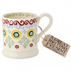 Emma Bridgewater Folk Border 1//2 Pint Mug