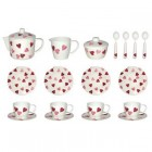 Emma Bridgewater Pink Hearts Boxed Melamine  Dollies Tea Set