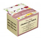 Home made Pack of 100 Self-Adhesive Assorted Chutney Jar Labels