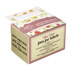 Home Made Pack of 100 Self-Adhesive Assorted Jam Jar Labels