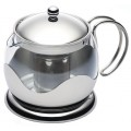 Le'Xpress 900ml Glass Infuser Teapot