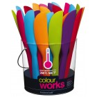 Colourworks Flexible Silicone 26cm Palette Knife