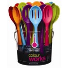 Colourworks Flexible Silicone 27cm Slotted Spoon