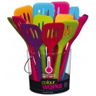 Colourworks Flexible Silicone 31cm Slotted Turner