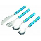 Miniamo 'Sir Bakealot' Four Piece Stars Cutlery Set