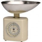 Typhoon Vintage Kitchen Scales - Cream