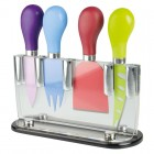 Taylors Eye Witness 4pc Cheese Knife Set with Stand