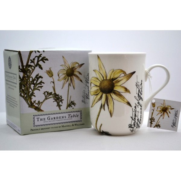 Maxwell Amp Williams Botanic Mug Flannel Flower