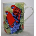 Maxwell & Williams Birds of Australia Crimson Rosellas Mug