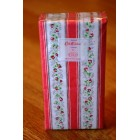 Cath Kidston Tea Rose Stripe Pink Pocket Tissues