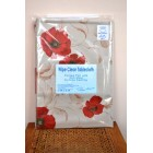 Peggy Wilkins Poppies Wipe Clean Tablecloth