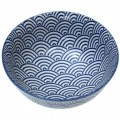 Japanese Blossom Bowl - Navy Waves