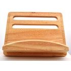 T&G Gift Range Cook Book Stand in Hevea Wood